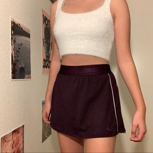 Nike Victory Tennis Skirt in Burgandy